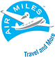 We offer Air Miles